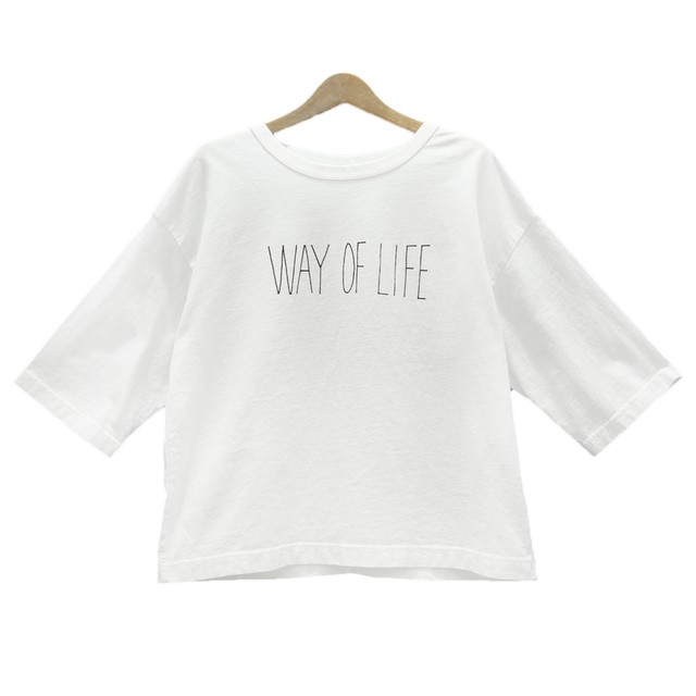 Hands of creation/ハンズオブクリエイション/USA18/WAY OF LIFE天竺プリントTシャツ【1120818】