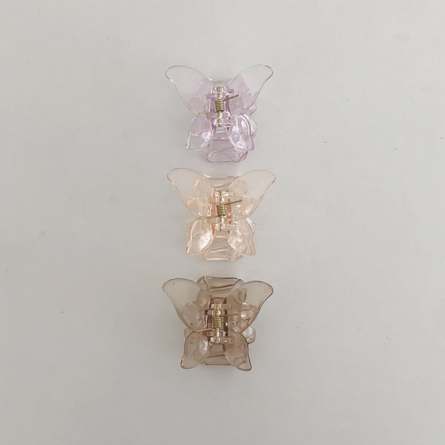butterfly clip(3 colors)