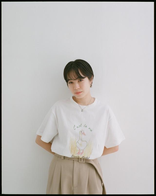 T-shirt duck
