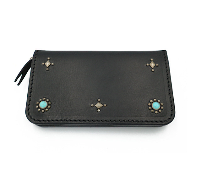 7inch STUDS WALLET (CROSS & SUN)
