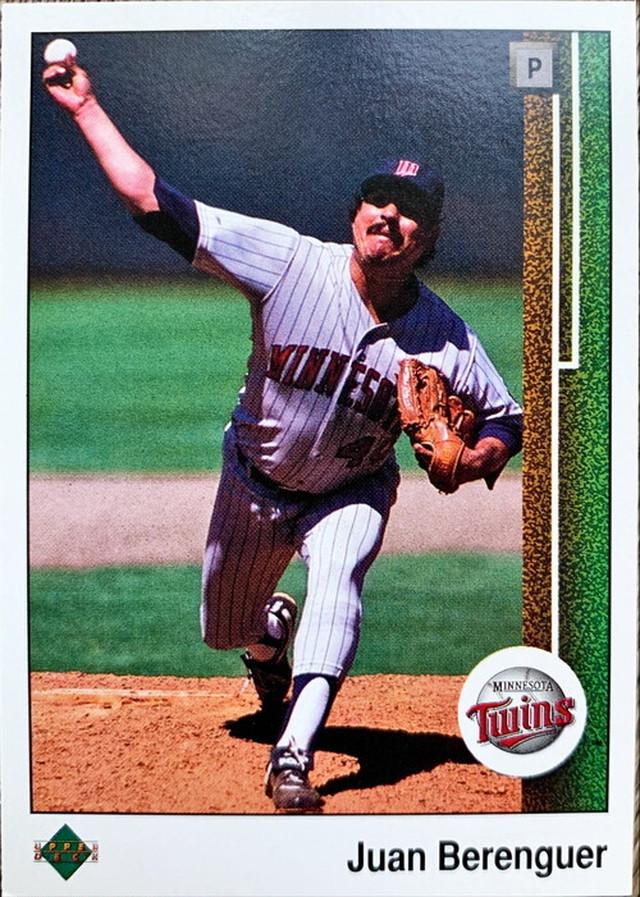 MLBカード 89UPPERDECK Juan Berenguer #232 TWINS
