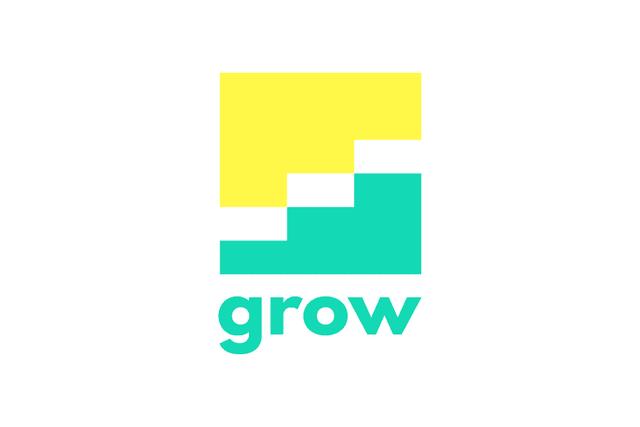 ロゴマーク|成長を表すインパクトあるコーポレート・ロゴを販売