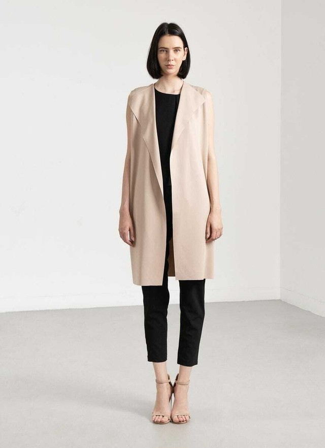 Laxed Vest - Beige