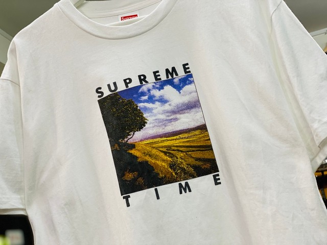 Supreme 20SS TIME TEE WHITE MEDIUM 30JG7412