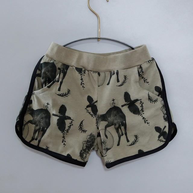 michirico 21SS Flora and fauna short pants (M)[MR21SS-09]※メール便1点までOK