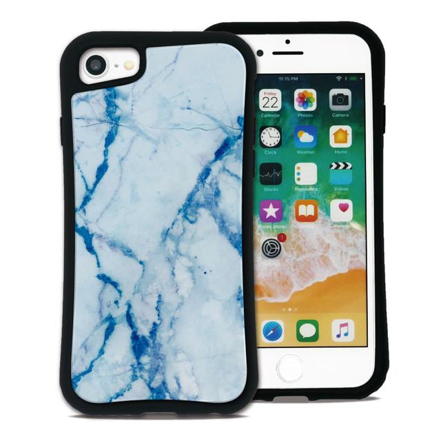大理石 ブルー セット WAYLLY(ウェイリー) iPhone 11 pro max 8 7 XR XS X 6s 6 Plus XsMax対応!_MK_