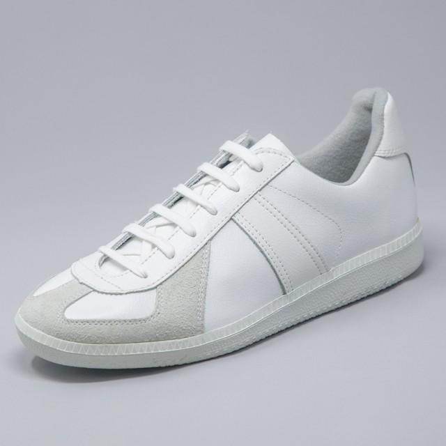 GERMAN TRAINER 1183<WHITE/WHITE>