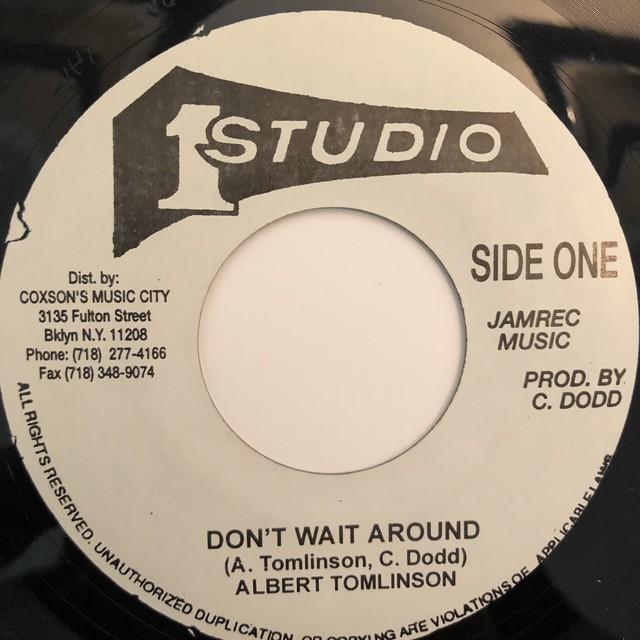 Albert Tomlinson - Don't Wait Around【7-20354】