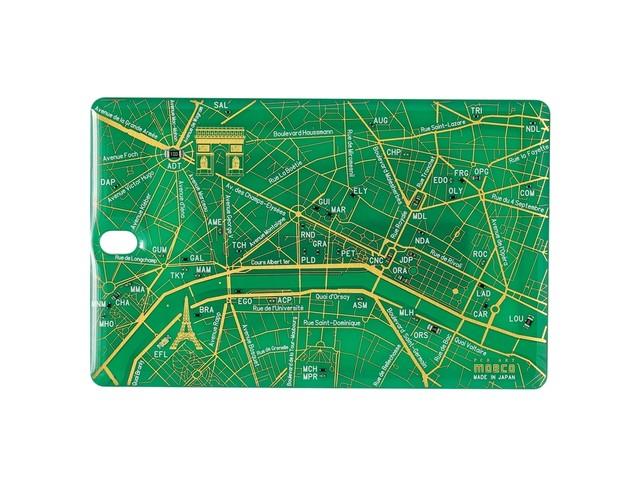 FLASH Paris回路地図 ICカードケース 緑【名入れ無料サービス実施中】