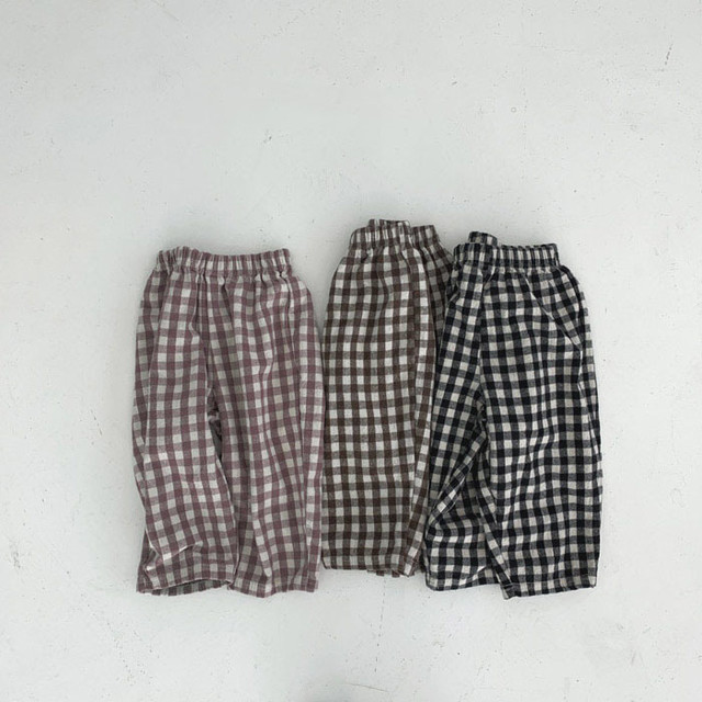 20%OFF warm check easy pants (パンツ/ラベンダー) LaLaLand:CL15DRX0102423_251