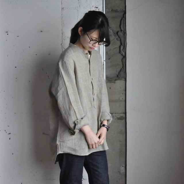 BRENA atelier pull over shirts - natural -