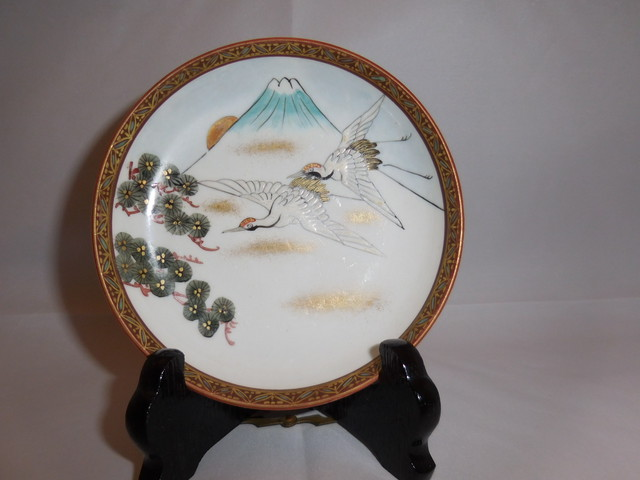 九谷小皿(1客) Kutani porcelain small one plate