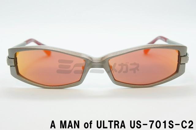 【正規品】A MAN of ULTRA×BLACK ICE US-702S-C1、ウルトラセブン メガネ、サングラス、円谷プロ、コラボメガネ、ウルトラマン、フレーム、アイスラッガー、コラボ ウルトラセブン 変身 サングラス 限定商品