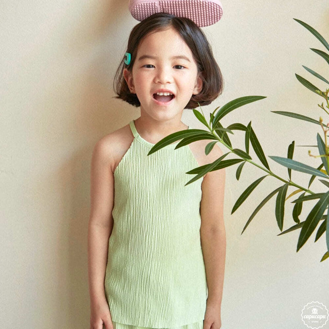 «sold out» HAI pleats tops 2colors プリーツトップス