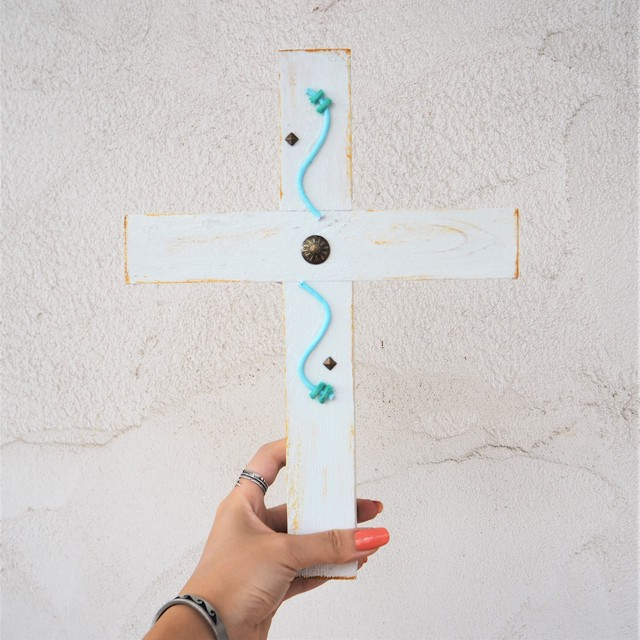 Wood Cross《WHITE》