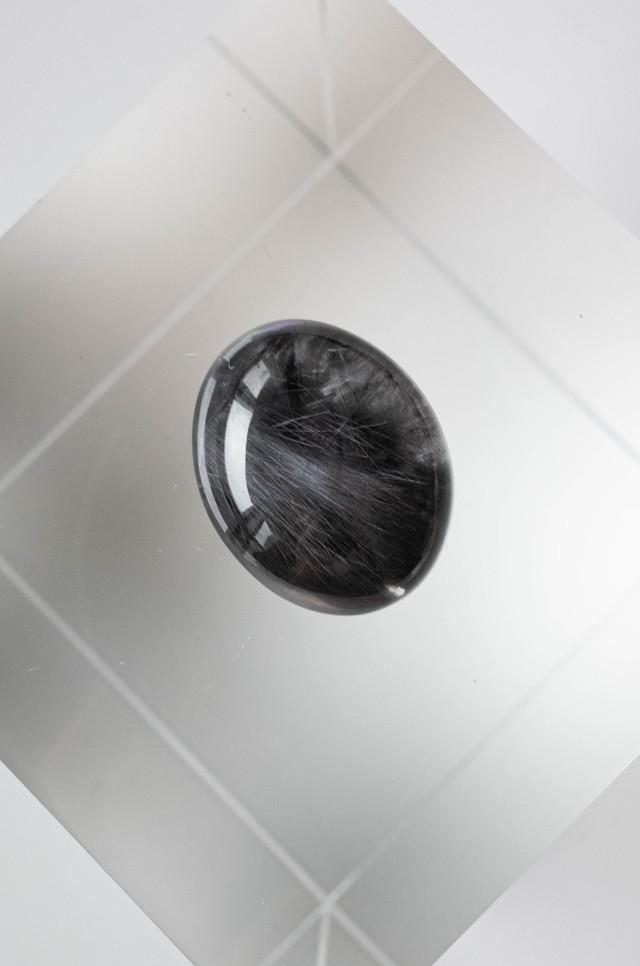Brookite In Quartz Black - BQ053
