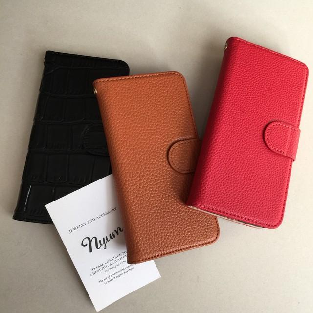 【本革iphone7/8カバー】本革手帳型iphoneケース レザー