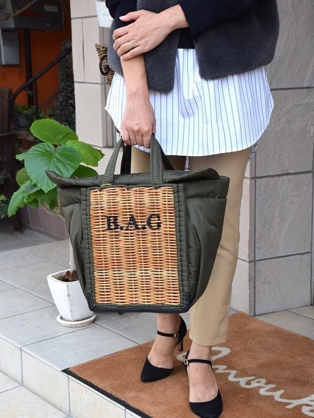 ebagos / BAGプリント綿入りシリーズNO.10640