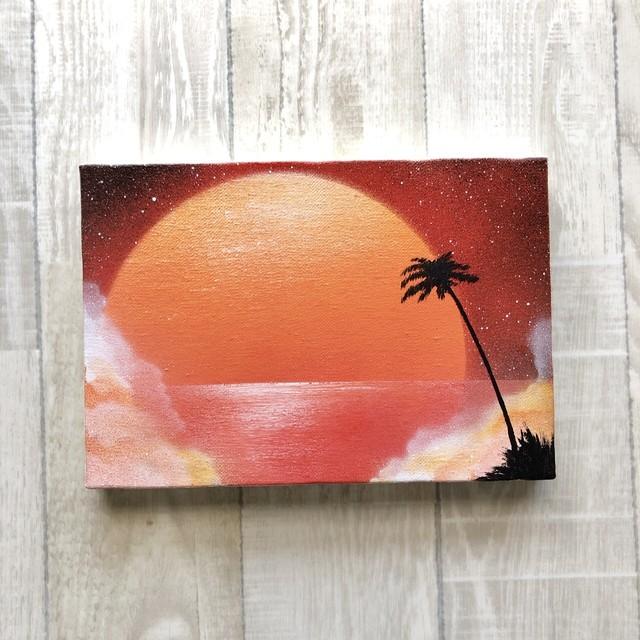 「境界線の風景」風景画