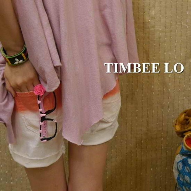 TIMBEE LO Hong Kong ローズメガネ ピンク