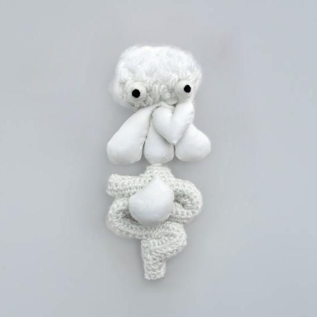 Puppet Guts: White