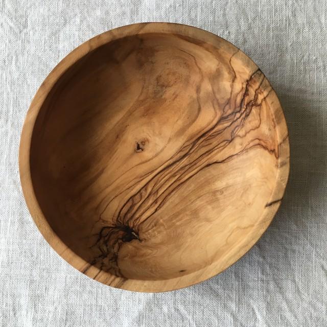 オリーブの木の器 C
