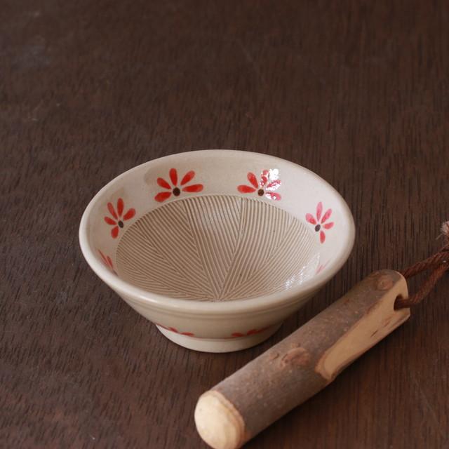 ミニすり鉢セット(ふちライン入り) 杉江匡