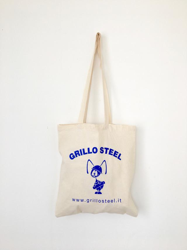 """ユーズドのトートバッグ「GRILLOスティール」 Used Tote Bag """"GRILLO STEEL"""""""