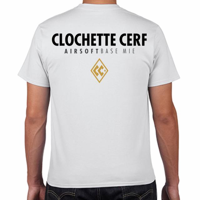 CLOCHETTE CERF LOGO T