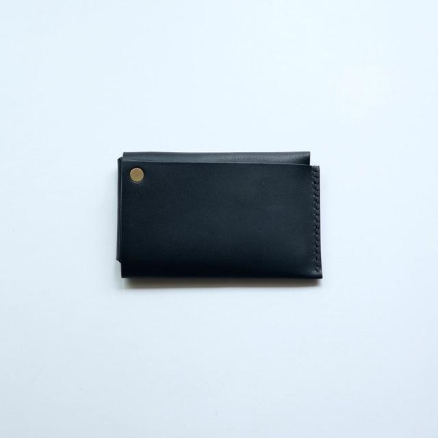 square wallet - bk - elb