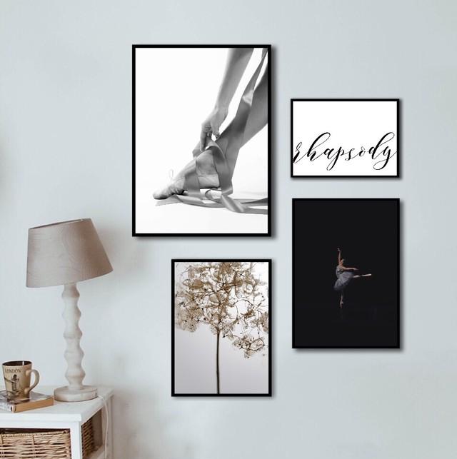 ballet shoes / P066 / ポスター