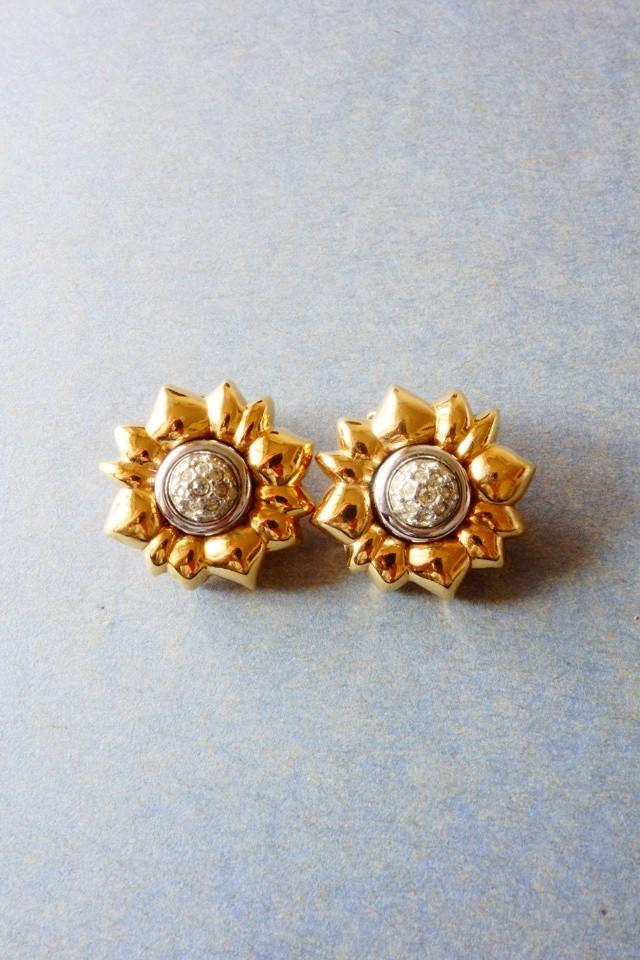 80s nina ricci vintage earring