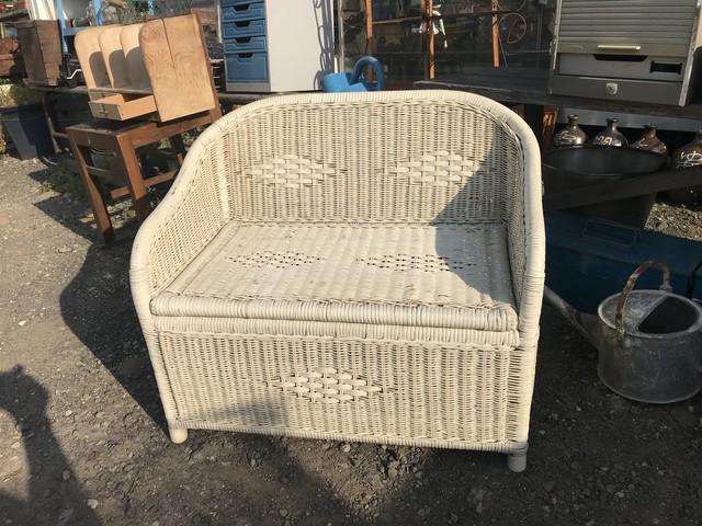 レトロ ラタン椅子