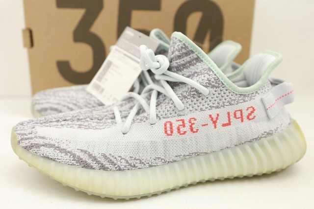 adidas YEEZY BOOST 350 V2 BLUE TINT B37571 US9.5 220JH8891
