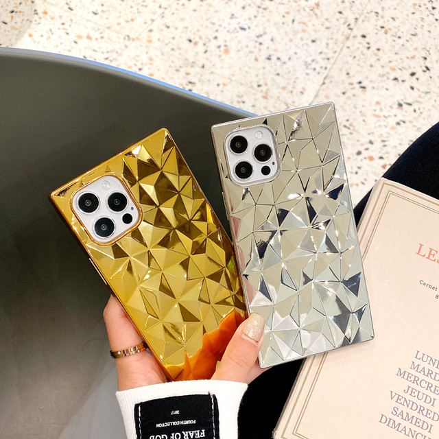 Luxury Gold&Silver iphone case