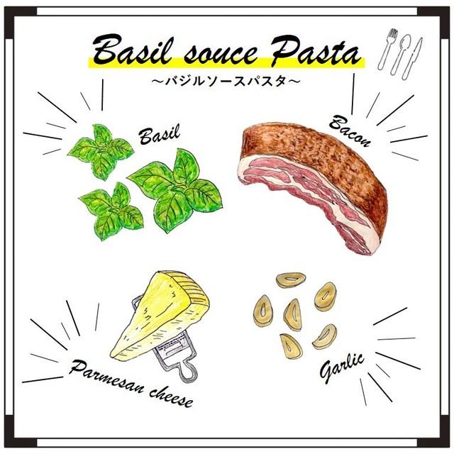 【4食セット】『フレッシュバジルのジェノベーゼ』パスタセット (2食パック×2袋)