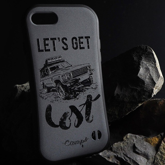 CAMPS iphoneケース【Let's get Lost】LAND CRUISER60