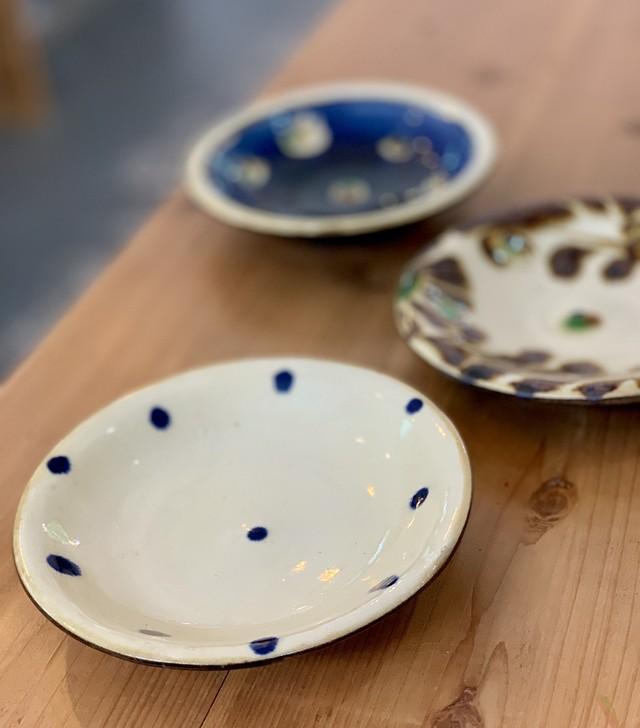 6寸皿 福田陶器 1点物