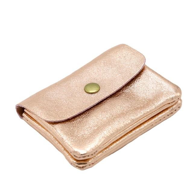 イタリア 財布 小銭入れ ピンクゴールド