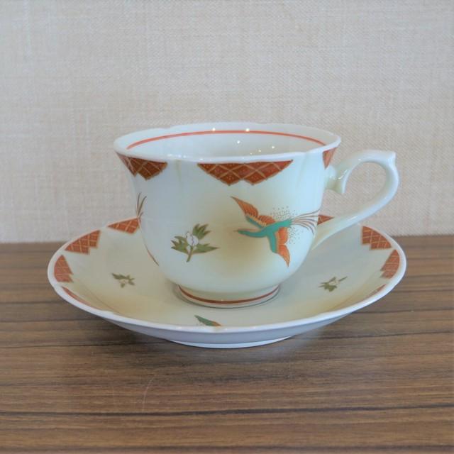 林九郎窯 カップ&ソーサー