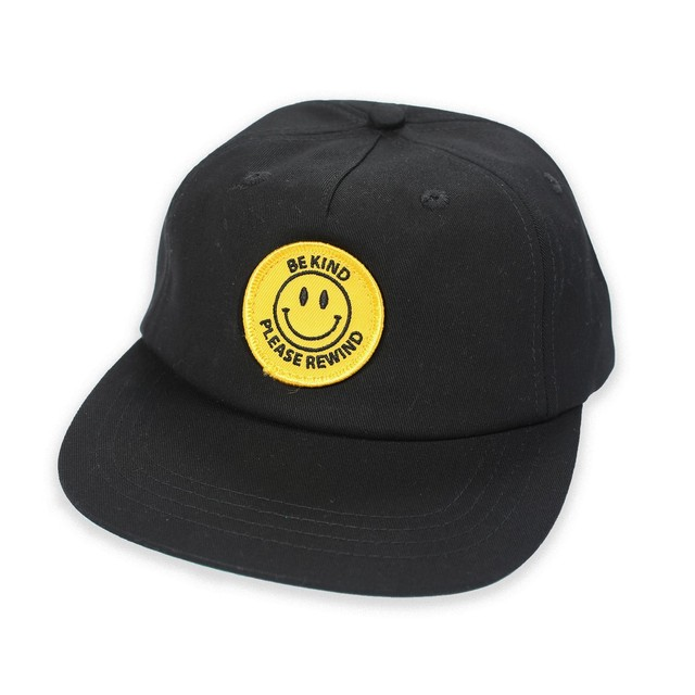 PICTURE SHOW BE KIND SNAPBACK HAT BLACK