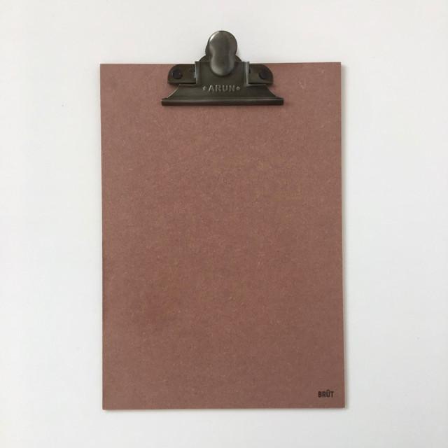 オランダのクリップボードバインダー (ピンク)| Clip Board Pink