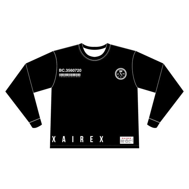 XAIREX VC L/S (BLACK)[XAI-0031]