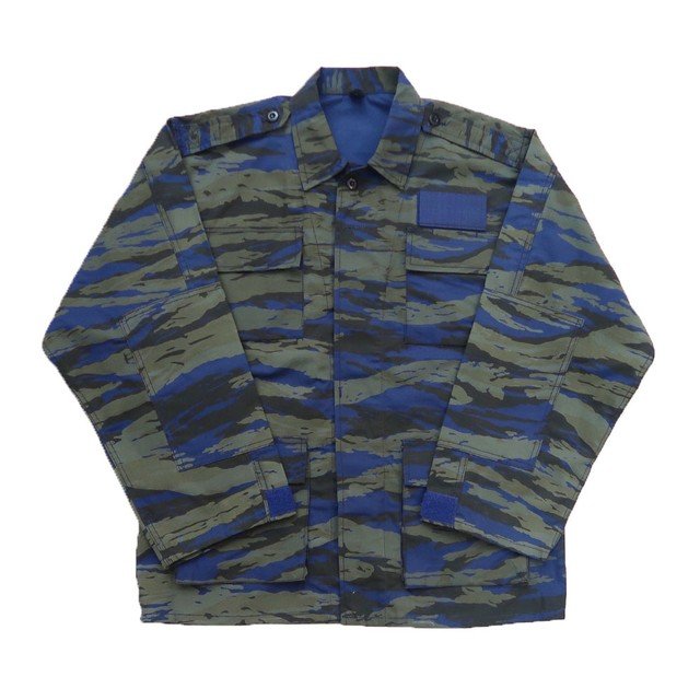 dead stock Greek military camouflage combat jacket