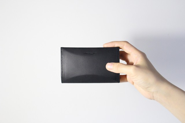 Ar card case   -black-