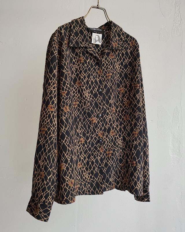 """""""SAGHARBOR"""" vintage pattern blouse"""