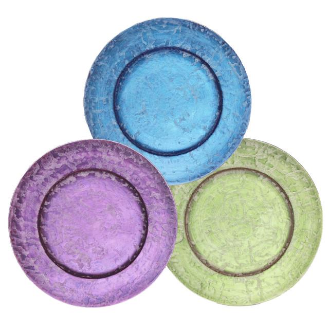 麟 プラチナ 7寸リムプレート 1皿〔有田焼なのにメタリックが幻想的で美しい麟-LIN-シリーズ〕