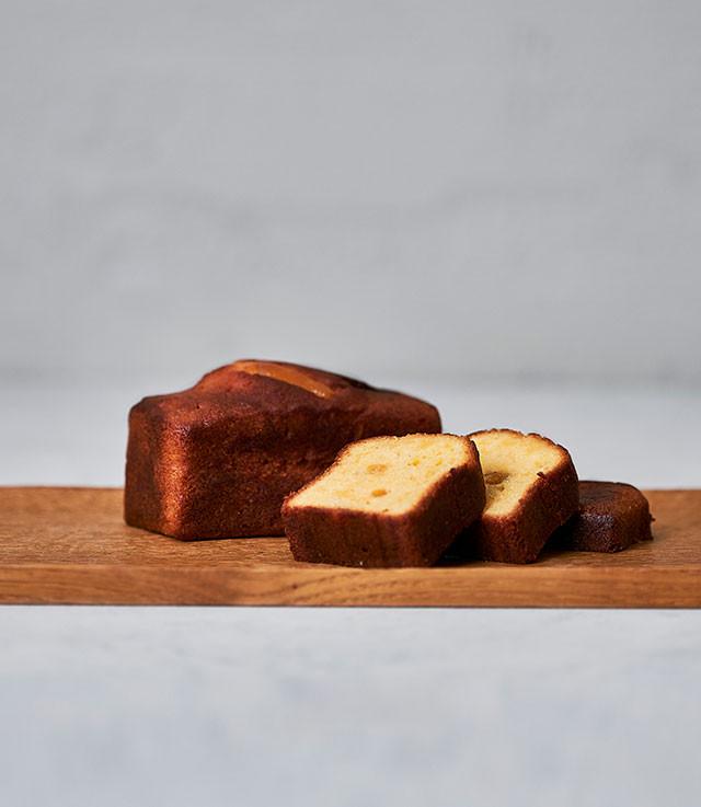 柚子ねりのパウンドケーキ