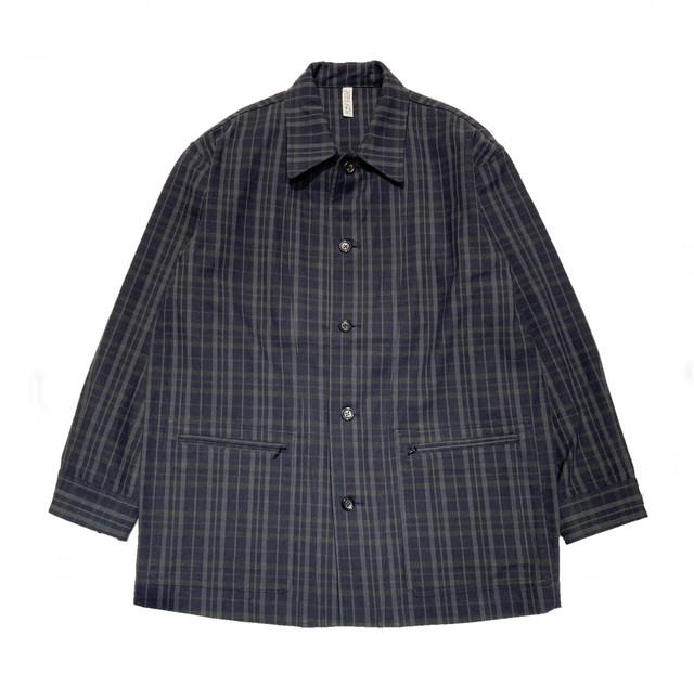 【HEALTH】COVER ALL / Navy×Brown check