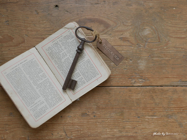 フランスの古い鍵(A)フレンチアンティーク